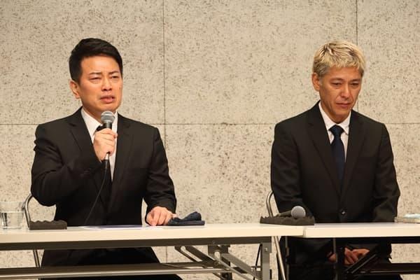 雨上がり 宮迫博之さんとロンドンブーツ 田村亮さんの謝罪会見